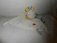Mothercare Giraffe -  Baby Snuggie / Snuggle Blanket Comforter Toy  - (17d)