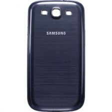 ORIGINALE Samsung i9300 Galaxy S3 SIII BATTERIA Indietro Cover Pebble Blu