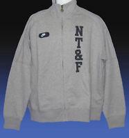 NEW NIKE NSW NT&F Nike Track & Field Cotton Fleece Jackets Grey XL