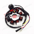 8 Coils Magneto Stator For GY6 49cc 50cc Chinese Moped Scooter Sunl Roketa Vespa