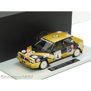 LANCIA DELTA HF 4WD  5th Rally Sanremo 1987 TOP MARQUES MODEL 1/18 #TOP24F