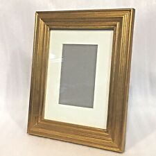 New Gold Gilded For 4X6 Matted Frame Exterior 11 x10 Table or Wall