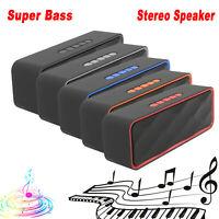 LOUD Bluetooth Wireless Speaker Outdoor Stereo Bass USB/TF/FM Radio Waterproof