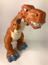 Fisher Price Mattel Roaring grande animation T Rex Dinosaure. Imaginext. Roar!