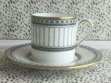 Wedgwood Colonnade Coffee Can & Saucer R4340 Bone China Made In England RD8393
