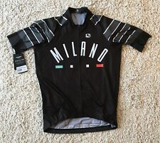 "New Giordana MILANO Scatto Pro Full Zip  Jersey Size XL Fits 40"" Chest Ref:D83."