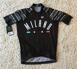"""New Giordana MILANO Scatto Pro Full Zip  Jersey Size XL Fits 38"""" Chest Ref:D83"""