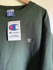 Champion Reverse Weave Sweatshirt Green Deadstock XXXL