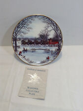 """Budweiser Clydesdale Plate """"An American Tradition"""" 1990 Anheuser-Busch #14213"""