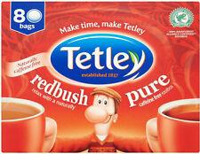 TETLEY REDBUSH TEA 80 TEA BAGS