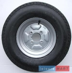 500 X 10 Inch Trailer Wheel 4 Ply High Speed Tyre 4 inch PCD