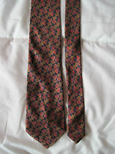 AUTHENTIQUE  cravate cravatte  MARIO VALENTINO   100% soie  TBEG  vintage