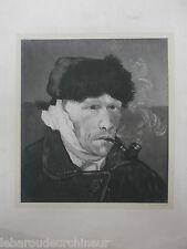 Superbe photographie d art tableau de Vincent Van Gogh procédé DRUET