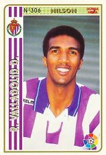 N°306 NILSON # BRAZIL REAL VALLADOLID OFFICIAL TRADING CARD MUDICROMO LIGA 1995