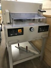 """IDEAL PAPER CUTTER 4850-95 18"""" USED EP MBM MICHAEL BUSINESS MACHINES GUILLOTINE"""