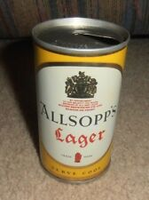 Vintage & Rare England Allsopp'S Lager Beer Very Old Can 1960'S