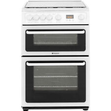 Hotpoint HAGL60P Free Standing Gas Cooker with Gas Hob 60cm White New