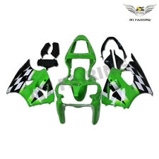 NT Green Plastic Injection Fairing Fit for Kawasaki 2000-2002 ZX6R 636 Set a014