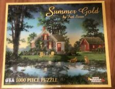 Fred Swan Summer Gold White Mountain Jigsaw Puzzle 2014 1000 PC