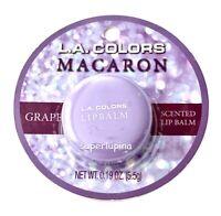 L.A. Colors Macaron GRAPE Lip Balm NEW