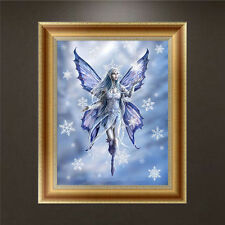 Butterfly Fairy DIY 5D Diamond Embroidery Painting Cross Stitch Craft Home Decor