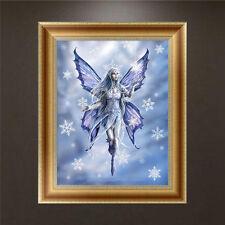 Papillon Fée DIY 5D Diamant Broderie Peinture Point de croix Accueil Décor