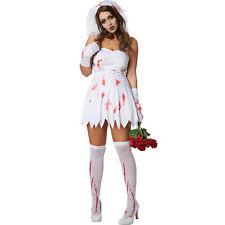 Kostüm Damen Zombie Geisterbraut sexy Fasnacht Karneval Halloween Horror Braut