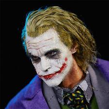 NEW 1/6 scale Head Sculpt Batman Joker Hair transplant Headplay Heath Ledger