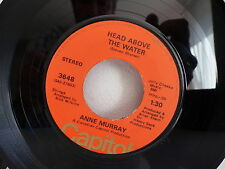 ANNE MURRAY Head above the water / send a little love my way CAPITOL 3648