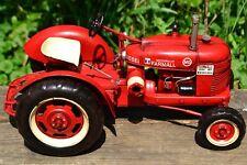 Farmall MD Tin Metal Tractor Model - Tinplate - International Harvester - M - IH