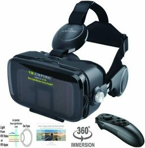 iPhone XS Max/XS/XR 3D VR Headset Glasses Android Smartphone Glasses & Control