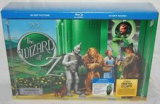 The Wizard of Oz Blu-ray 70th Anniversary Box Set NEW Limited Edition Set WATCH