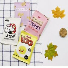 Snacks Print Coin Purse Mini Wallet Money Bag Cute Change Pouch Key Holder Bag