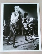 BILLY IDOL ORIGINAL PHOTO Press Photograph Generation x janet macoska punk