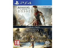 PS4 Assassin's Creed Odyssey + Assassin's Creed Origins (Double Pack)