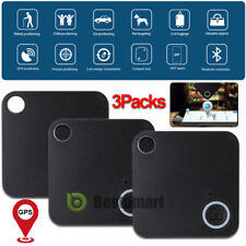 3Pack Smart Key Finder Bluetooth WIFI Tracker GPS Locator Anti-Lost Wallet Phone
