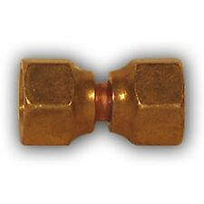 1/4 inch Double Female Flare union Brass Pipe Fitting NPT soft copper air water