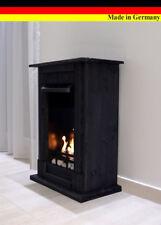 Chimenea Fireplace Etanol y Gel Madrid Premium Negro + 21 piezas conjunto