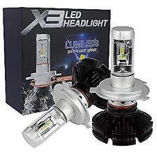 KIT LED H 4 H4 LED Cree Philips 6500K 6000 lumen 12V 24V  Xenon Fari Auto DS