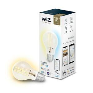 WiZ Whites Filament A60 E27 Clear 2er Pack (2 Lampen)