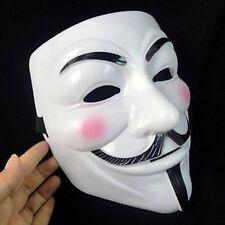 Halloween Masks V for Vendetta Mask Guy Fawkes Anonymous fancy dress costume Hot