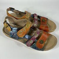 Women's L'artiste Sumacah size 42 sandals shoes floral spring step