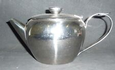 STAINLESS STEEL TEAPOT , TEA POT 700 mls ,attached lid, strainer,vent in lid