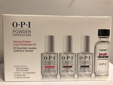 New Authentic OPI Powder Perfection Dipping System Liquid Essential Kit