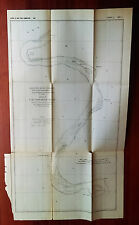 1882 Sketch Map of Mississippi River Lake Providence Reach