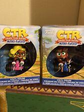 Crash Bandicoot Ctr Funko Figures