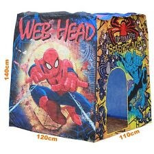 Spiderman Deluxe Play House Tent Cubby  New Pop up