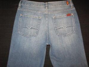 7 For All Mankind Standard Jeans Jungen Sz 14 Gerades Bein Maß 29 X 29 Neu