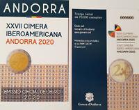 Andorra 2 Euro 2020 Ibero-amerik. Treffen Andorra Polierte Platte - Vorverkauf -