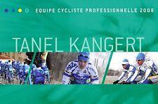 CYCLISME  carte cycliste TANEL KANGERT équipe AG2R 2008